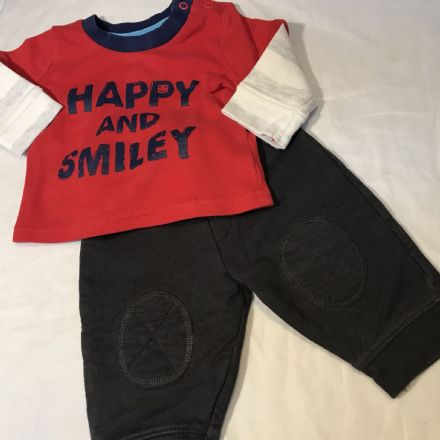 0-3 Month Joggers and Top